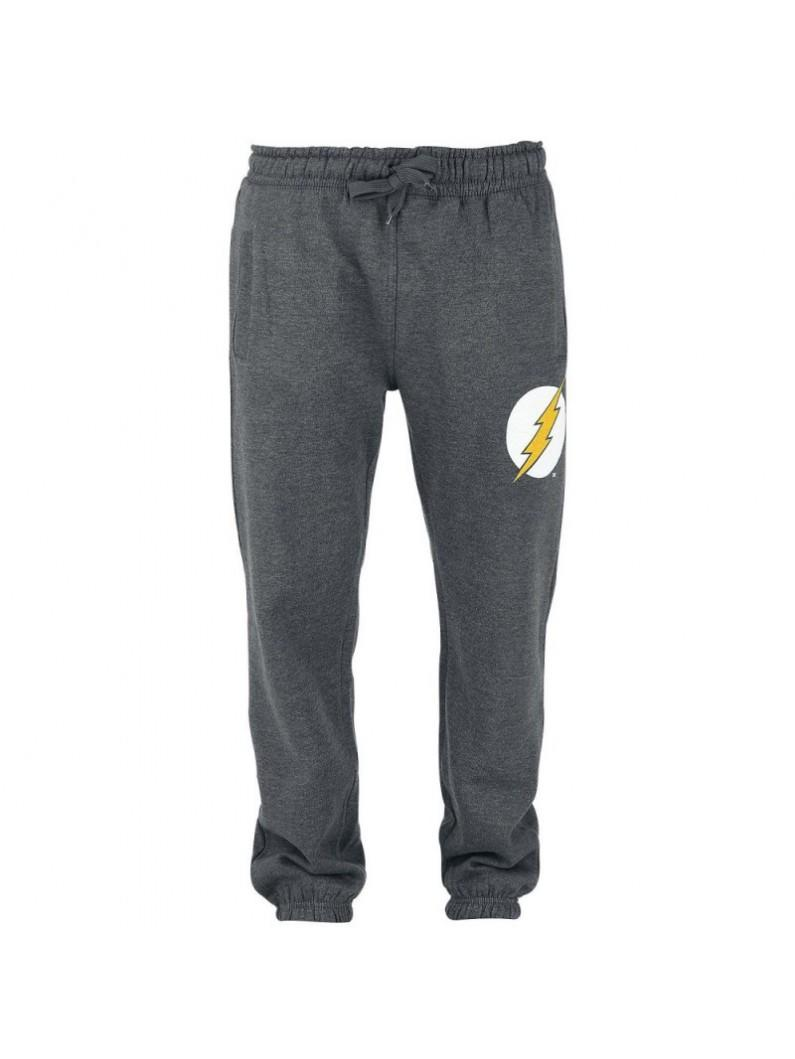 The Flash - Logo Men Jogging Pants - Grey