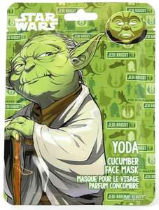 Yoda Cucumber Face Mask