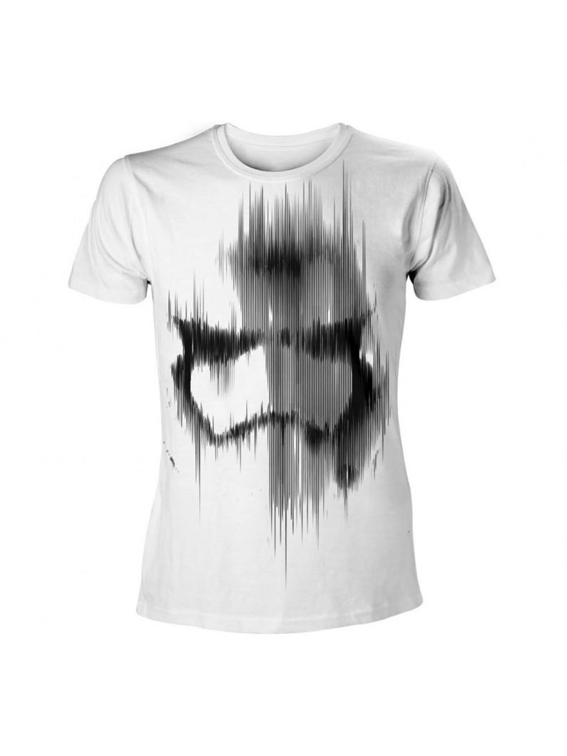 Star Wars - Faded Stormtrooper Men T-Shirt - White
