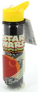 Star Wars Episode 9 Retro Plastic Water Bottle