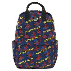Loungefly Nylon Spiderman Backpack
