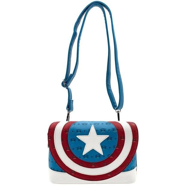Captain America Loungefly Pop with Strap