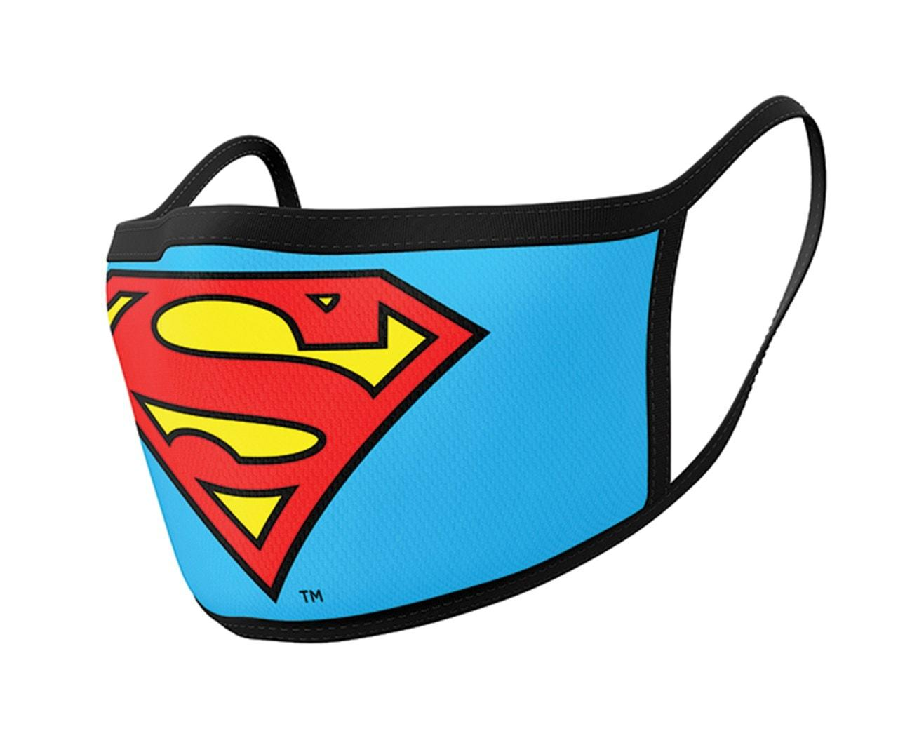 Superman (logo) Face Covering x 2