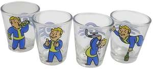 Fallout Shot Glass Set Vault Boy