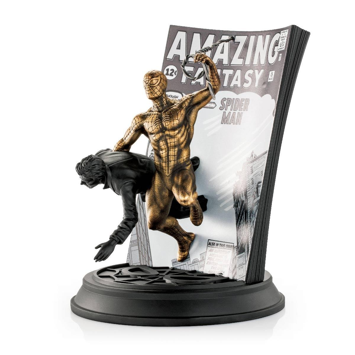 Royal Selangor Limited Edition Gilt Spider-Man Amazing Fantasy #15