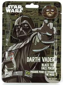 Darth Vader Black Tea Face Mask