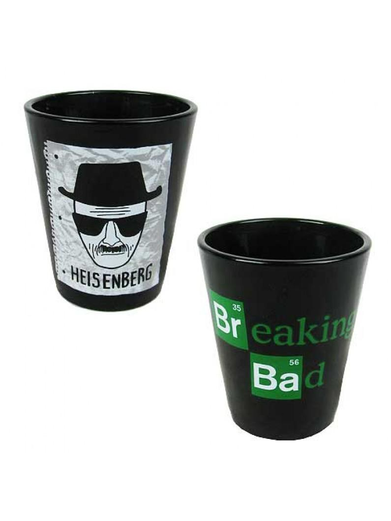 Breaking Bad Shot Glass Heisenberg Sketch