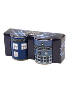 Doctor Who Mini Mugs