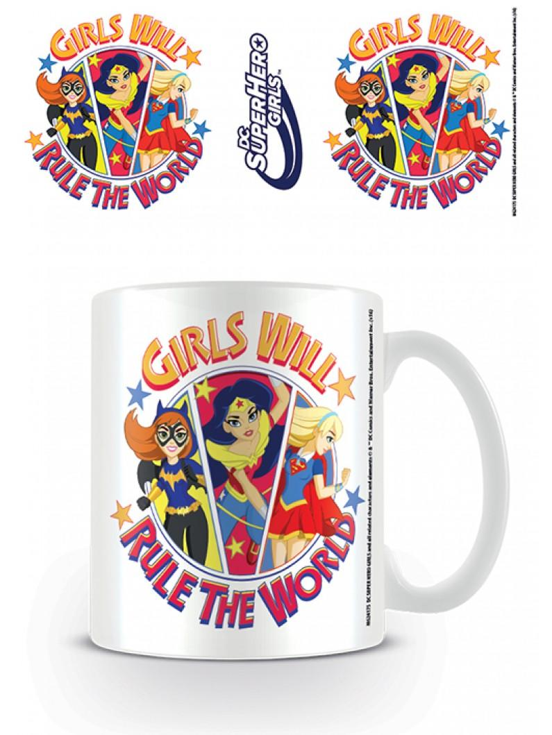 DC Super Hero Girls (Girls Will Rule The World) Mug