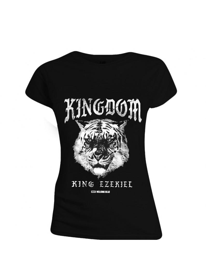 The Walking Dead - Kingdom Tiger Women T-Shirt - Black
