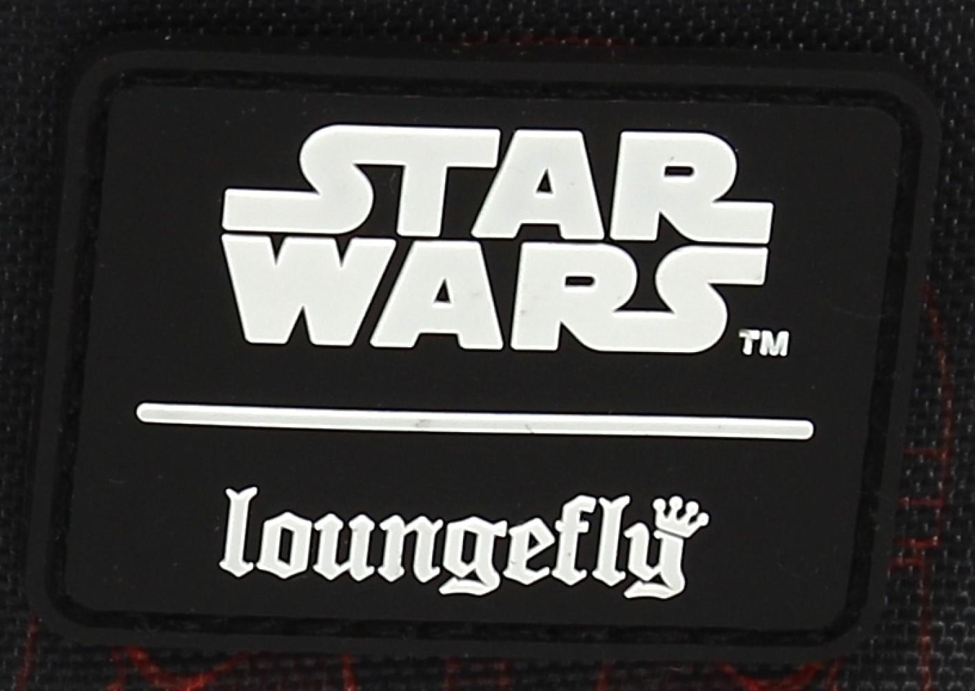 LOUNGEFLY X STAR WARS RED SITH TROOPER NYLON BACKPACK