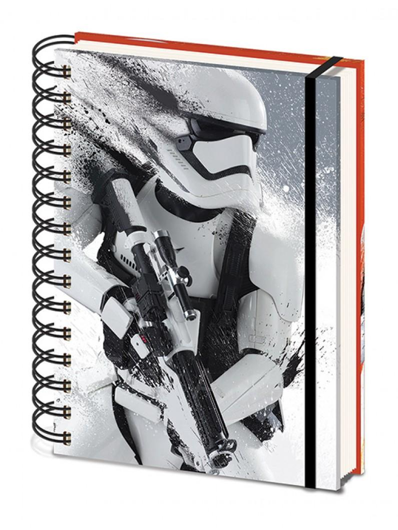 Star Wars Ep7 Stormtrooper A5 Notebook