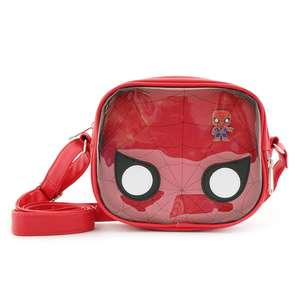 POP BY LOUNGEFLY MARVEL SPIDERMAN CROSSBODY