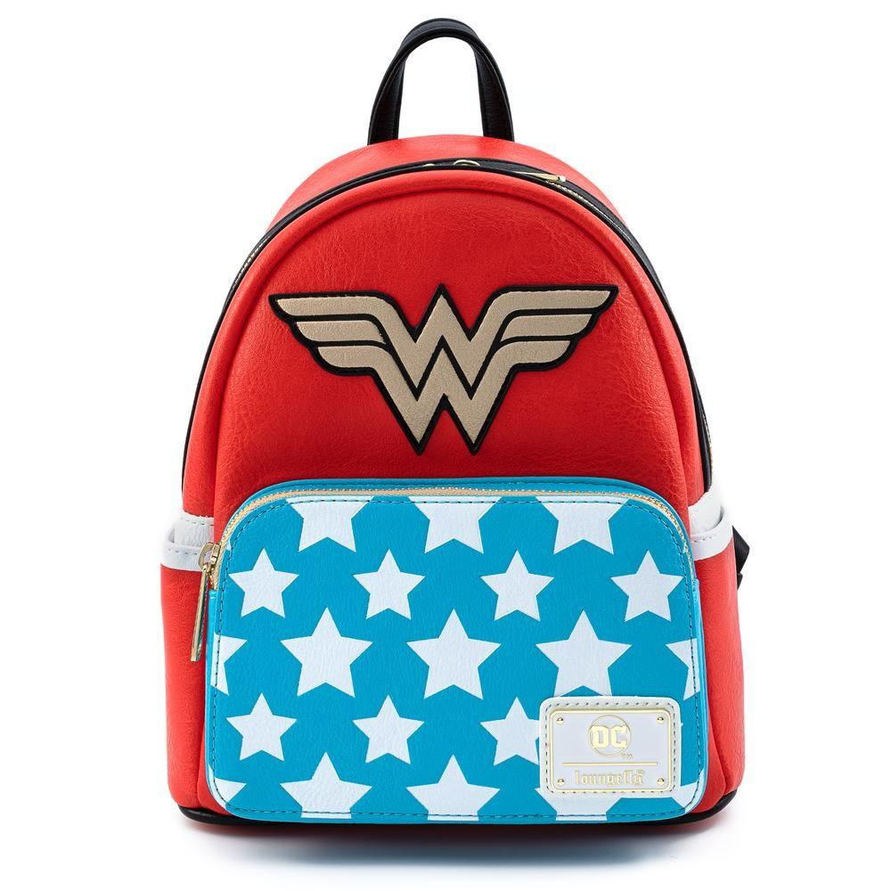 Loungefly Dc Wonder Woman Cosplay Mini Backpack