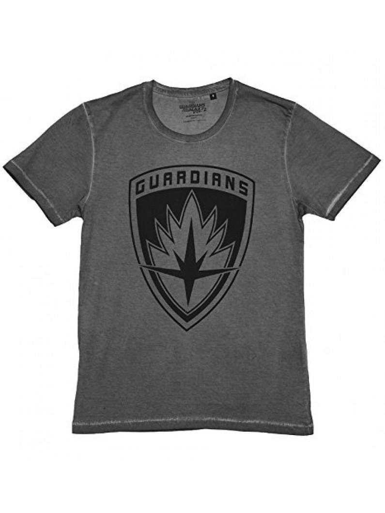 Guardians of the Galaxy - Vol 2. Washed Logo Men T-Shirt - Anthracite