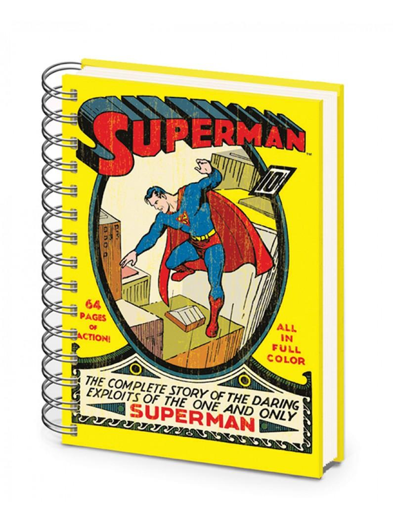 DC Superman No.1 A5 Notebook