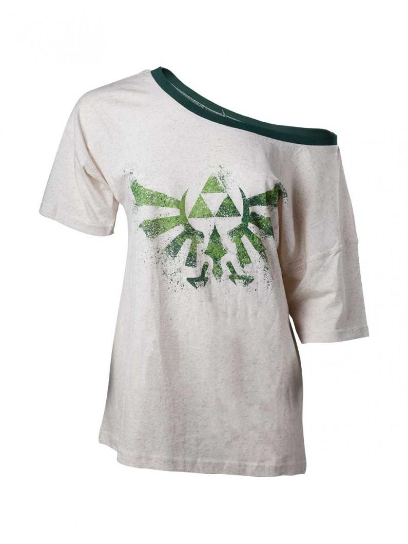 The Legend Of Zelda - Off Shoulder Ladies T-Shirt