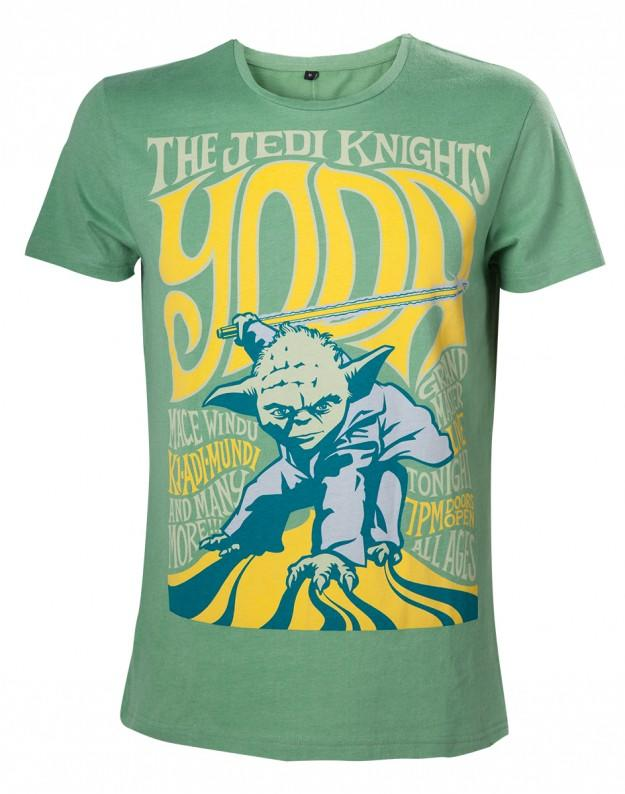 Officially Licensed Star Wars Yoda, The Jedi Knights T-shirt