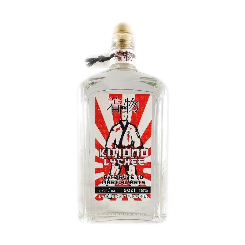 Kimono Lychee Gin Liqueur A Tribute To Martial Arts 50cl