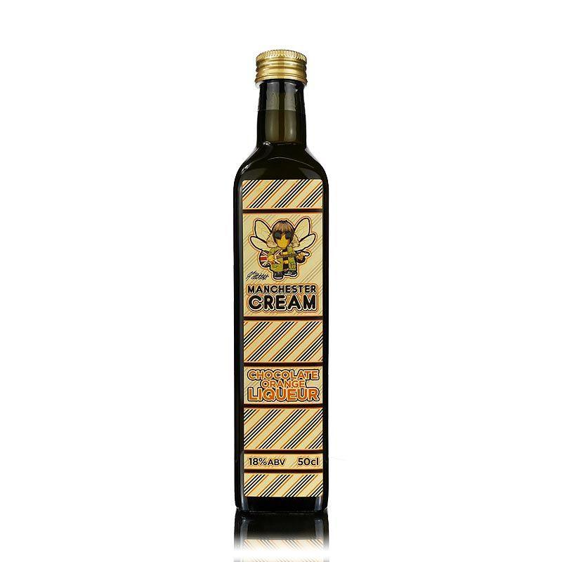 Manchester Cream Chocolate Orange Liqueur 50cl