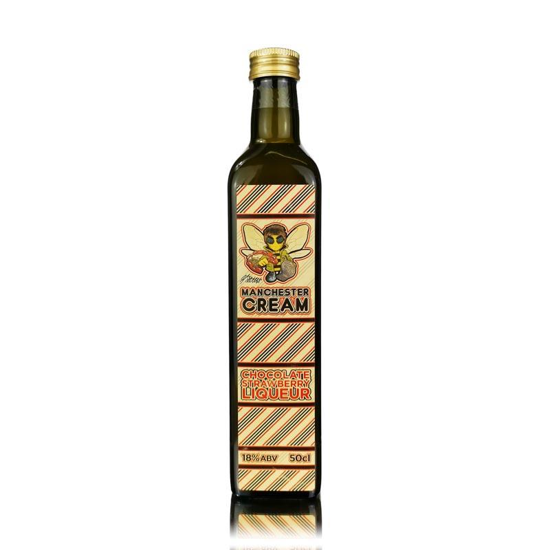 Manchester Cream Chocolate Strawberry Liqueur 50cl