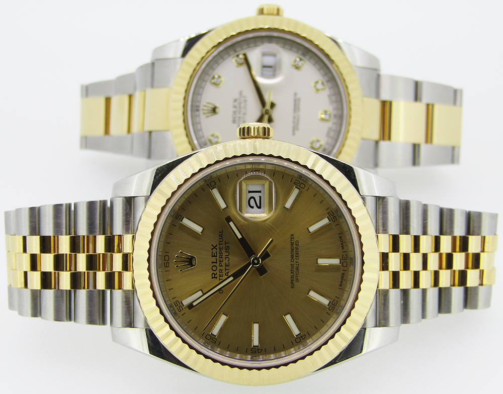 Rolex Datejust II & 41 Oystersteel & Yellow Gold