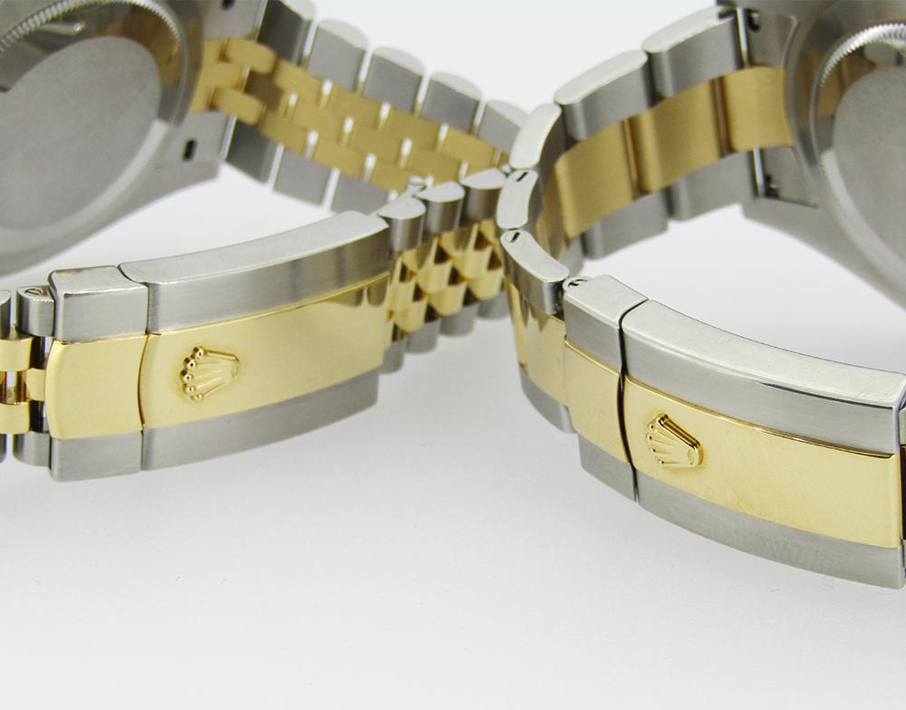 Jubilee & Oyster Bracelets Rolex Datejust II & 41 Oystersteel & Yellow Gold