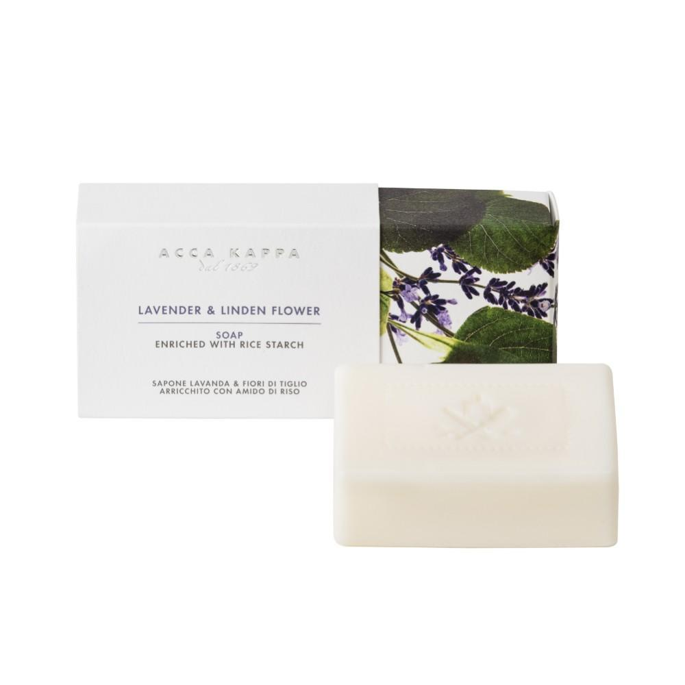 Pictured: Lavender & Linden Flower Soap by ACCA KAPPA