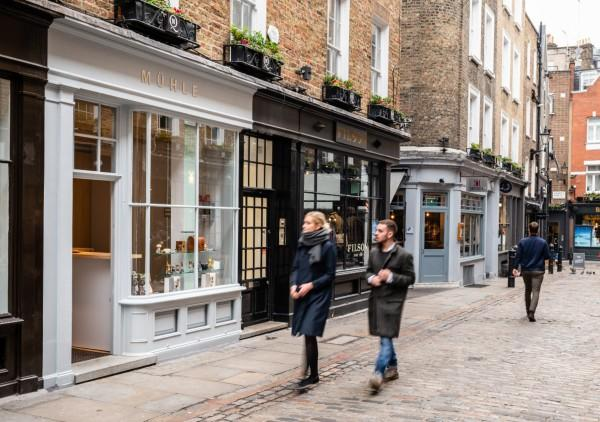 MÜHLE Store London on Newburgh in Carnaby