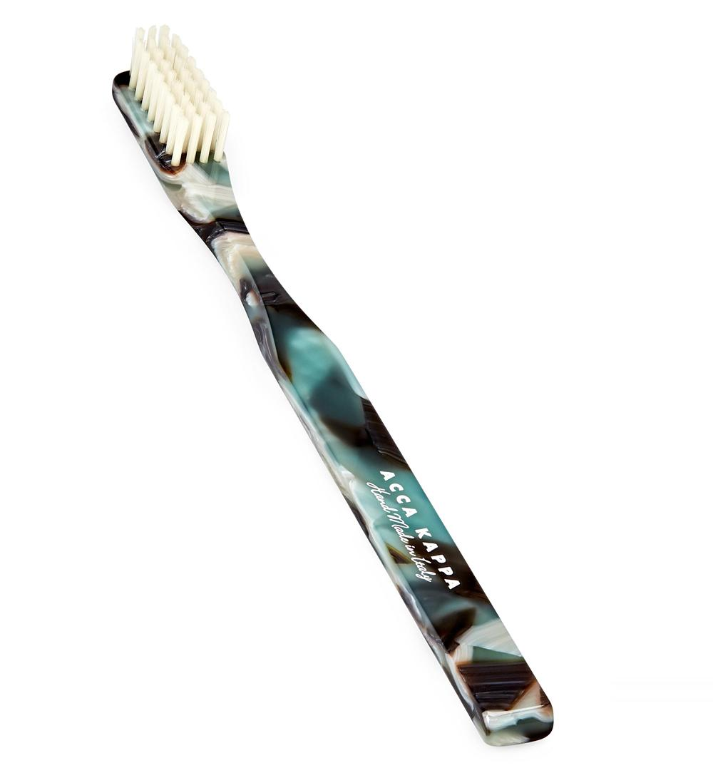 ACCA KAPPA Historical Havana and Green Toothbrush