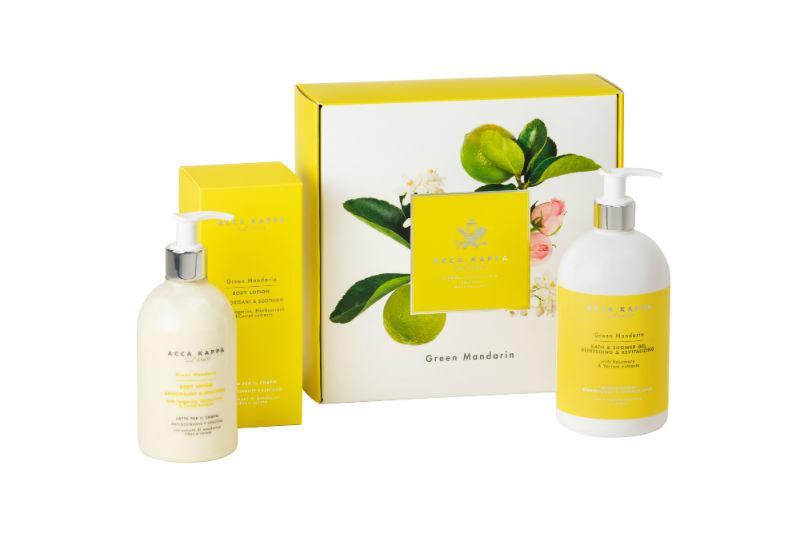 The Green Mandarin Body Gift Set by ACCA KAPPA