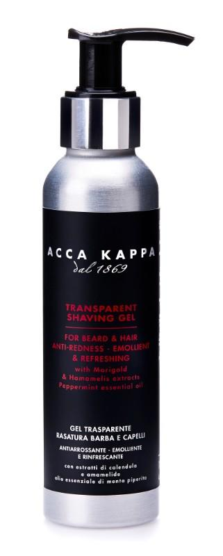 The Barbershop Collection Transparent Shaving Gel by ACCA KAPPA