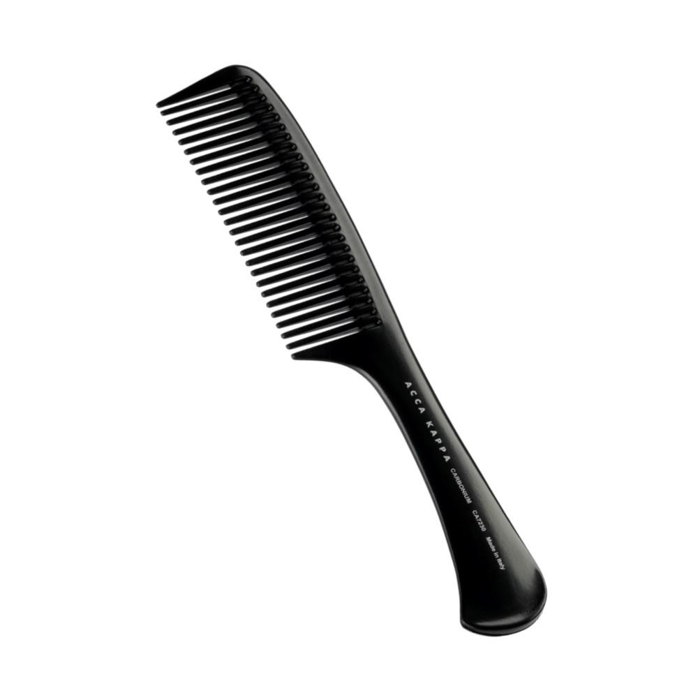 ACCA KAPPA Carbonium Medium Tooth Comb