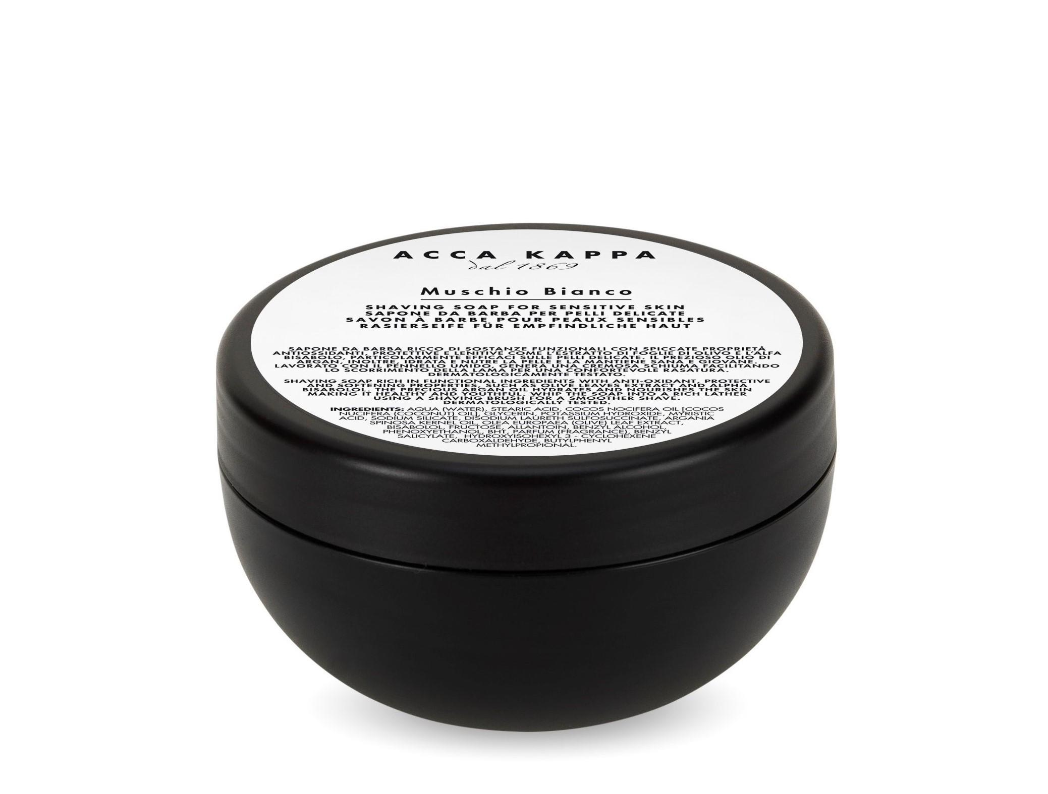 ACCA KAPPA White Moss Shaving Soap - 200ml