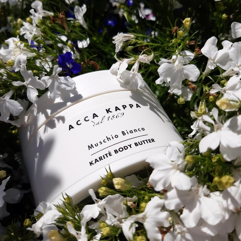 The White Moss Body Butter 200ml by ACCA KAPPA