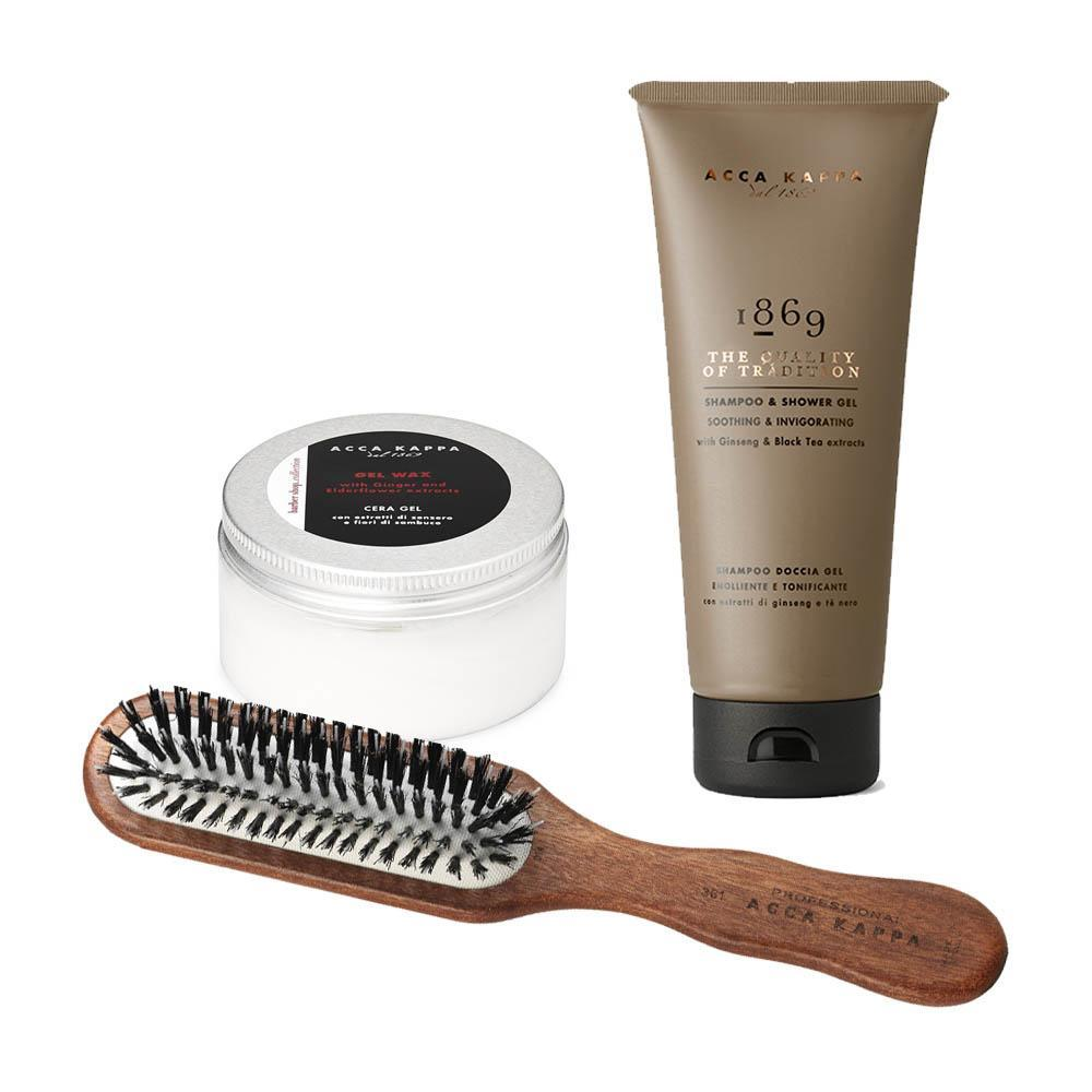The Men's Fine Hair Starter Kit brings together some lovely essentials for day-to-day hair care