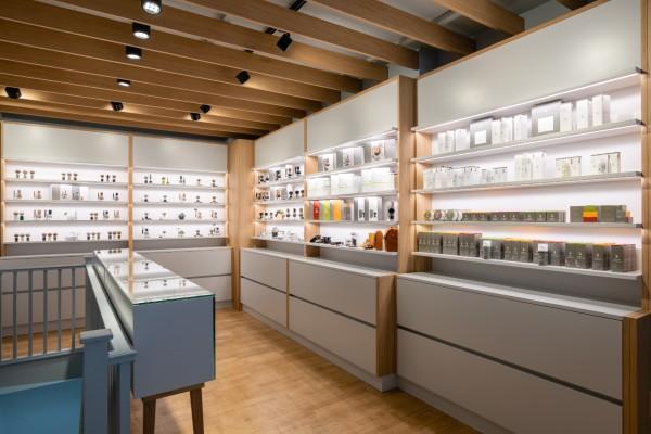 Interior of MÜHLE Store, Ground Floor Level