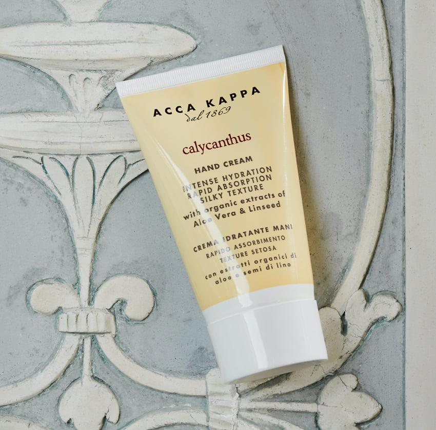 Pictured: The Calycanthus Hand Cream by ACCA KAPPA