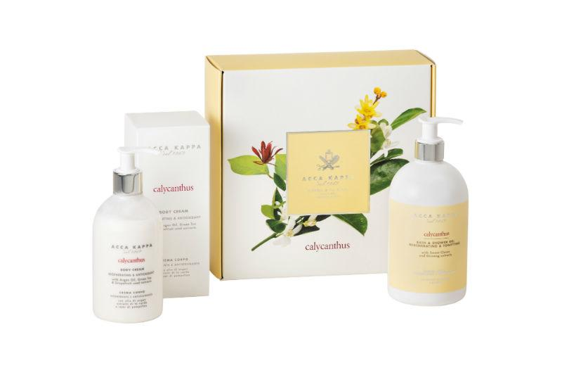 The ACCA KAPPA Calycanthus Bath and Body Set