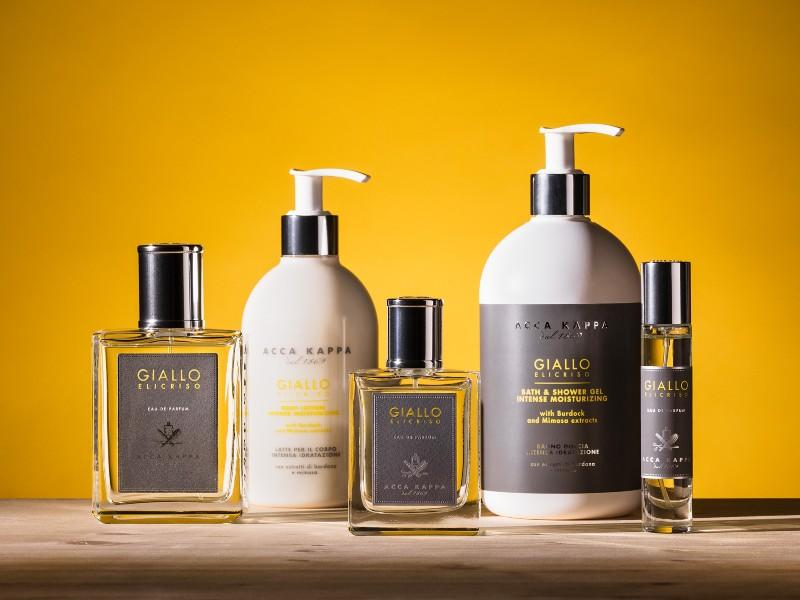 The Giallo Elicriso range by ACCA KAPPA