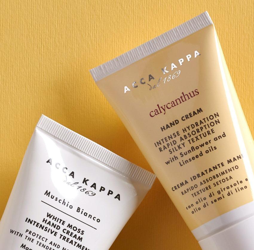 The ACCA KAPPA White Moss and Calycanthus Hand Cream