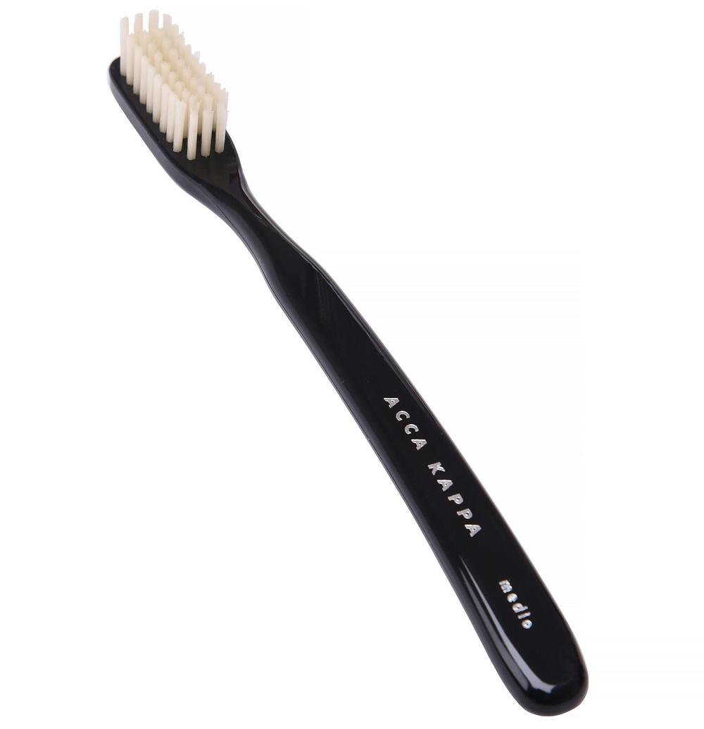ACCA KAPPA Black Nylon Toothbrush