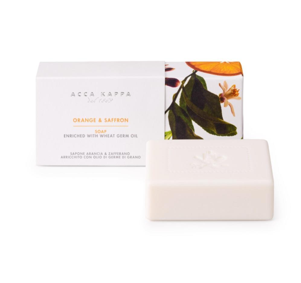 Pictured: Orange & Saffron Soap by ACCA KAPPA