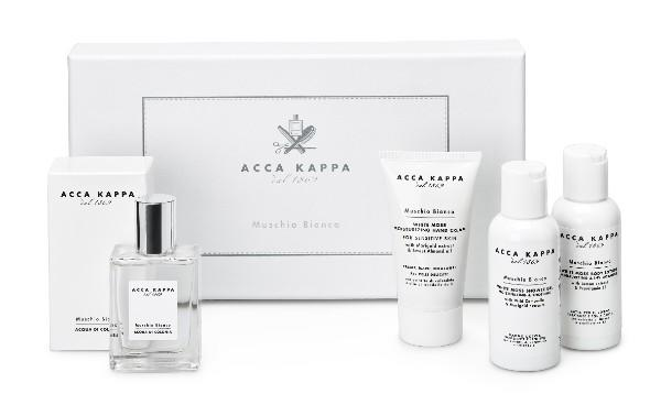 White Moss Gift Set with Eau de Cologne, Shower Gel, Body Lotion and Hand Cream