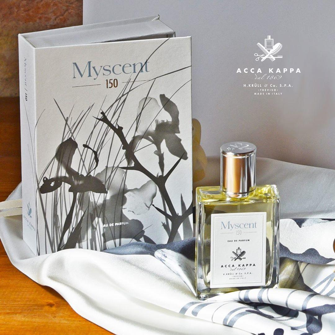 The most recent fragrance from ACCA KAPPA: MYSCENT