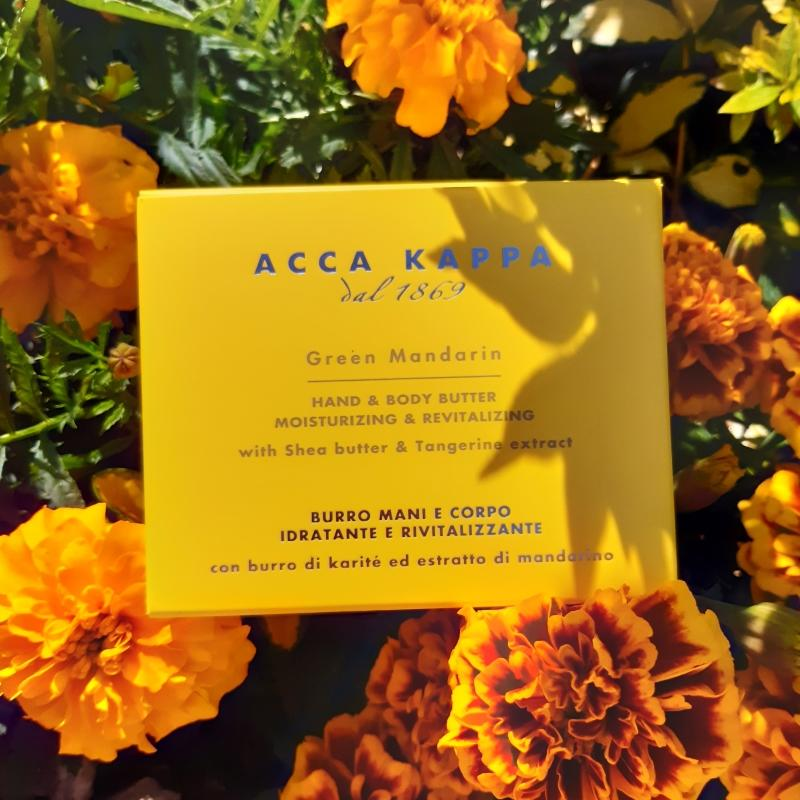 The Green Mandarin Body Butter 200ml by ACCA KAPPA