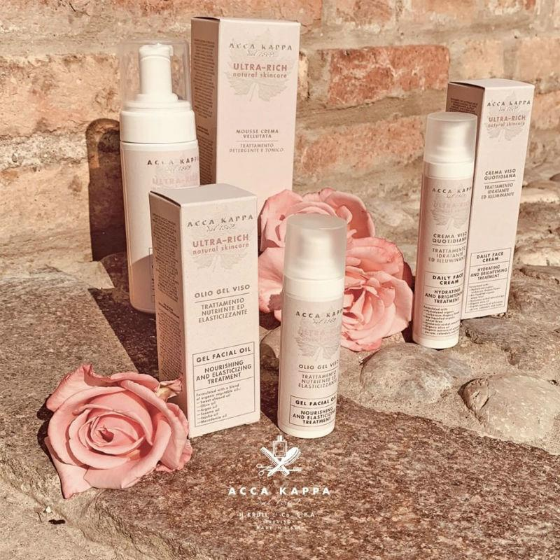 The Ultra Rich Natural Skincare range by ACCA KAPPA