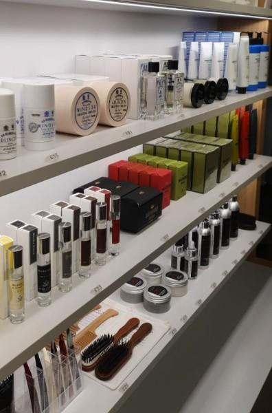 Multibrand section at MÜHLE Store with ACCA KAPPA