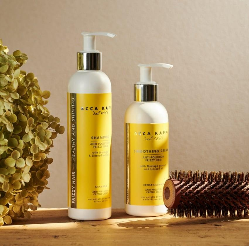 Pictured: The Green Mandarin Shampoo and Smoothing Cream by Acca Kappa