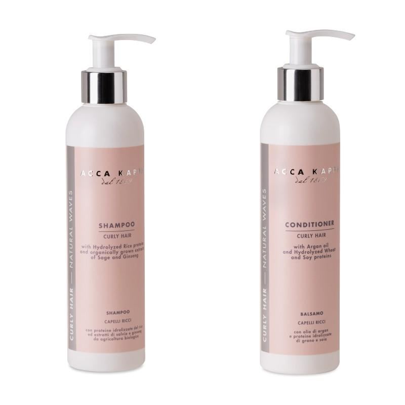 The Curly Hair Shampoo and Conditioner & Mask by ACCA KAPPA